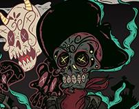 Cartel de Dia de Muertos 2017
