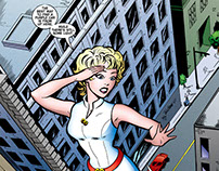 GoGirl! Trade Paperback Vol 1 - Comic Book Lettering