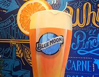 Blue Moon mural 10.5x9