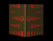 Book Design: Warten auf Godot – Samuel Beckett