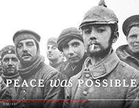 WWI Bicentennial #PeaceIsPossible Campaign
