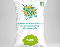 "Logo + Packaging ""funny pop"""