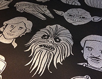 Star Wars Tribute Screenprint