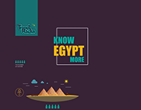 Travel Hacks (Know Egypt More) Infographic.