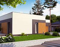 Zx185 - gotowy projekt domu