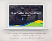 Xinau IT Course Website Design