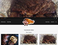 Oliver's Smokin' Bar-B-Que Website