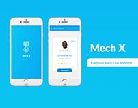 Mech X (auto mechanics on demand app)