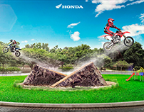 Honda - Painting and Retouching