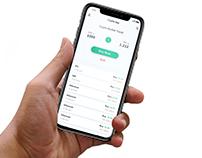 Crypto Exchange Concept App