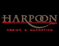 Harpoon Design & Marketing Logo