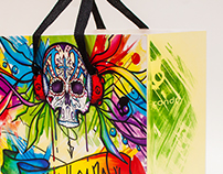 Skullcandy Throw Away Bag Design