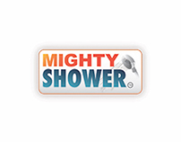 Mighty Shower Logo