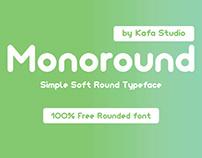 Freebie - Monoround Font
