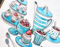 Scetch // cupcake