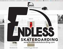 Endless Skateboarding Logo Design