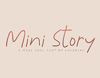 Free Mini Story Handwriting Font