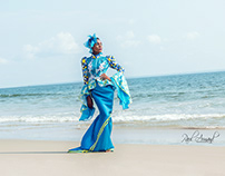 shooting with African Style Model agency