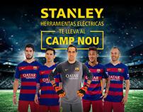 STANLEY HERRAMIENTAS ELÉCTRICAS   Te lleva al Camp Nou