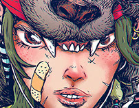 Princess Mononoke color