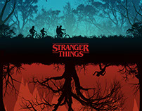 Stranger Things Poster Design