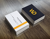 WhitmanDesigns Business Cards