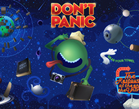 Hitchhikers Guide Wall Art