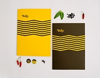 Restaurant Menu Design Tosto