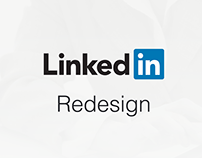 LinkedIn Redesing / Concept