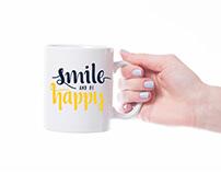 White mug mockup free