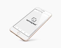SurveyBot - Branding | App Design | Web Design