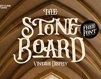 Stone Board Free Font