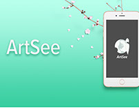 Interaction Design: ArtSee (school project )