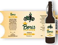 Cerveza Boris craft Beer llamada White Ale
