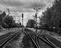 B&W On The Tracks