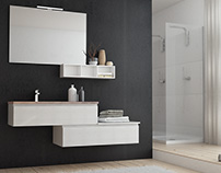 Bathroom furniture visualization