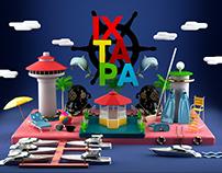 IXTAPA | 3D Illustration