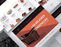 Legado Artesanal I e-commerce site