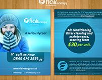 Flyer Designs of Flair Energy