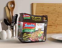 Indomie Noodles — Beef with Bite