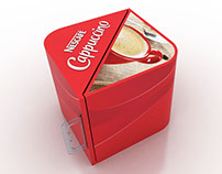 Nescafe Cuppuccino Display Box