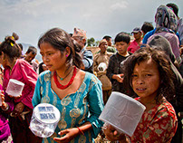 Chhaimale Village Solar Light Donation, Nepal