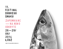 identity of the 11. Festival Dobrego Smaku in Lodz