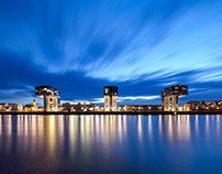 Kranhaus Buildings, Cologne
