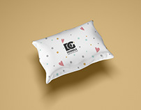 Free Pillow Mockup For Textile Branding