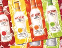 Archers Aqua 'Less Sugar, Real Refreshment' Launch