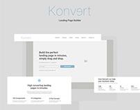 Konvert Landing Page Builder