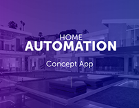 Home Automation - Concept App for Kayser Control