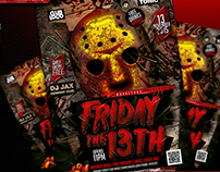 Flyer Friday 13th Konnekt