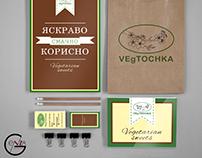 Corporate design for VEgTOCHKA